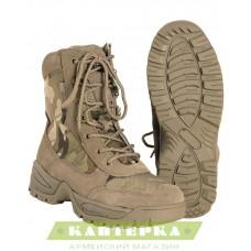 Ботинки Multicam на шнурках и молнии