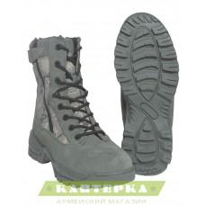 Тактические ботинки на шнуровке и 2-х молниях камуфляж AT-Digital