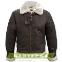 Бомбер куртка B3 коричневый