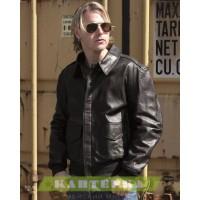 Кожаная куртка А2 черная