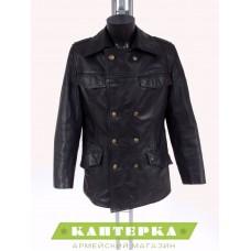 Куртка кожаная полицейского б/у