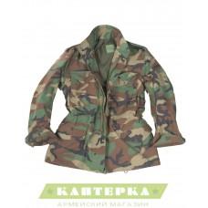 Полевая куртка M65 США Teesar камуфляж woodland