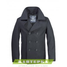 Морской бушлат Pea Coat цвет черный