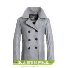 Морской бушлат Pea Coat цвет серый